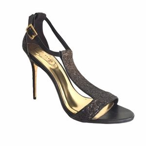 TED BAKER LONDON Sparkly Strappy High Heels Sexy
